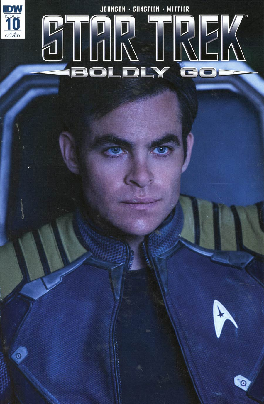 Star Trek Boldly Go #10 Cover C Incentive Photo Variant Cover
