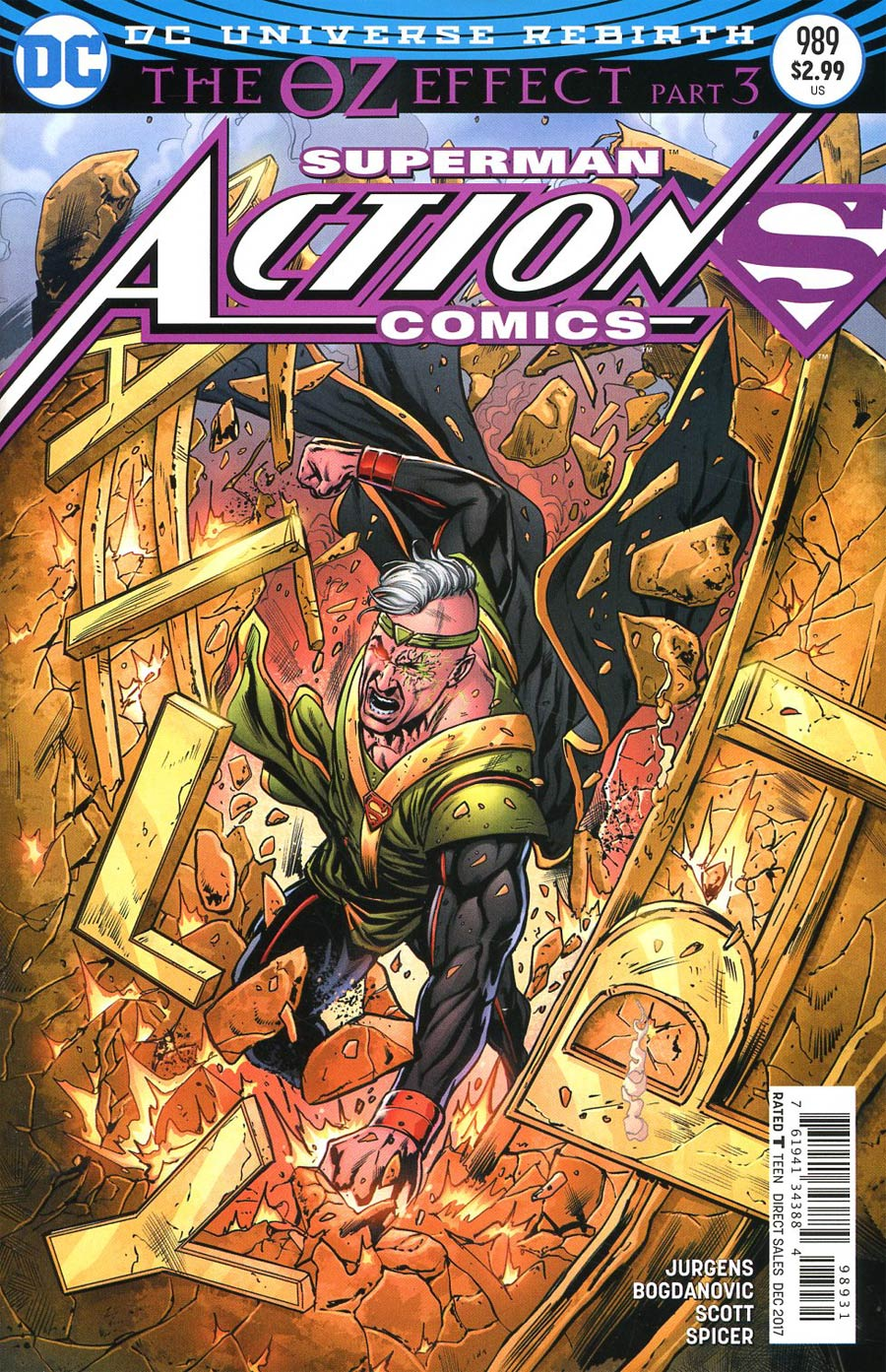 Action Comics Vol 2 #989 Cover C Variant Neil Edwards & Jay Leisten Cover