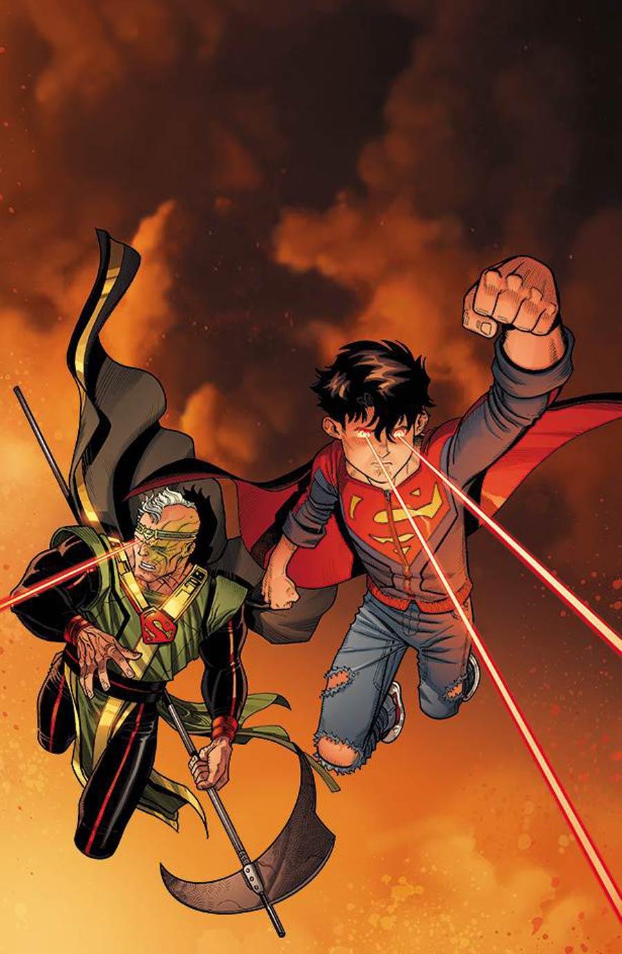 Action Comics Vol 2 #990 Cover A Regular Nick Bradshaw Lenticular Cover