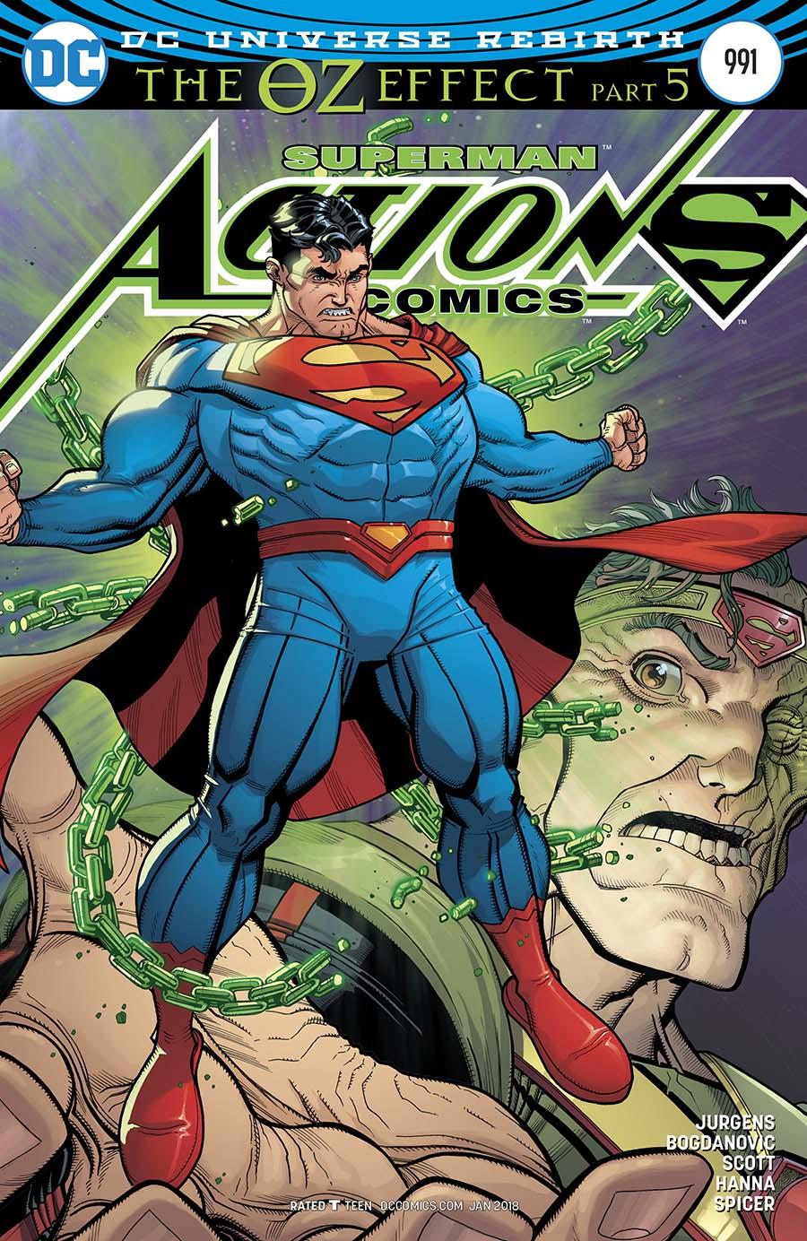 Action Comics Vol 2 #991 Cover B Variant Nick Bradshaw Non-Lenticular Cover