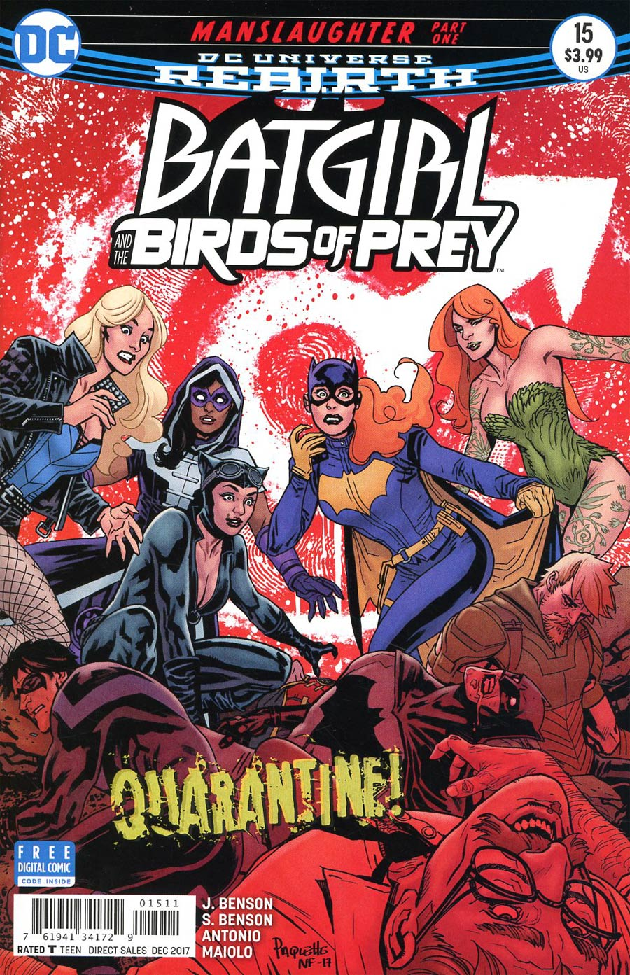 Batgirl And The Birds Of Prey #15 Cover A Regular Yanick Paquette Cover