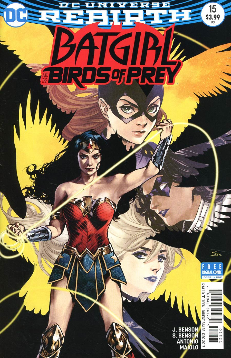Batgirl And The Birds Of Prey #15 Cover B Variant Kamome Shirahama Cover