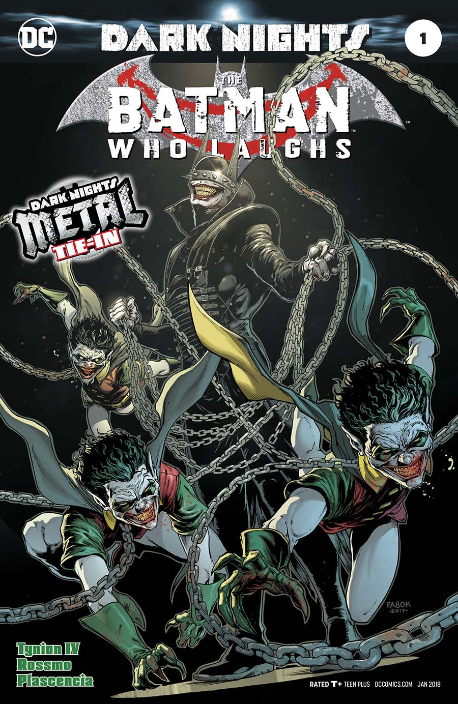 Batman Who Laughs One Shot Cover A 1st Ptg Foil-Stamped Cover (Dark Nights Metal Tie-In)