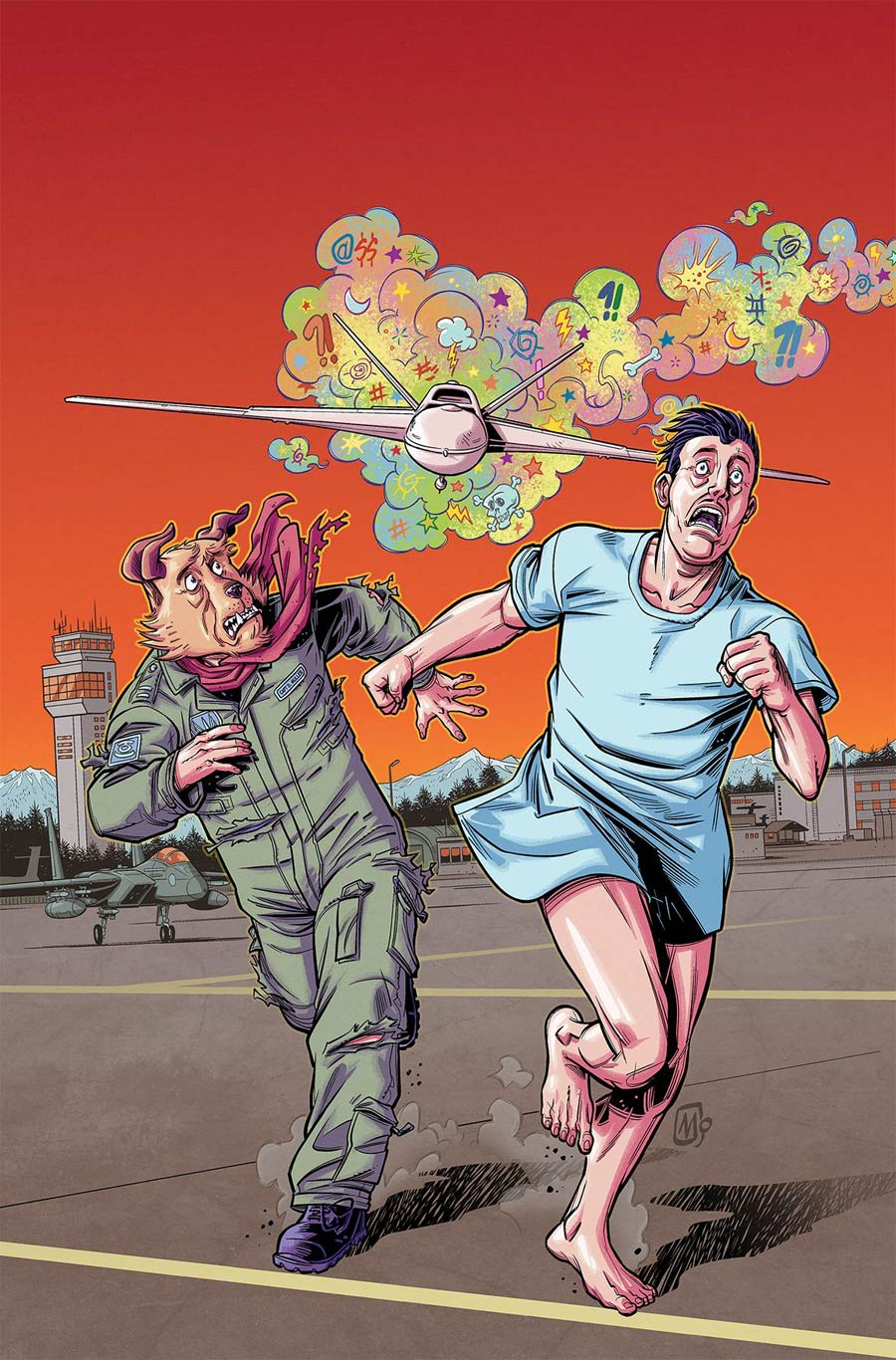 Dastardly & Muttley #2 Cover A Regular Mauricet Cover