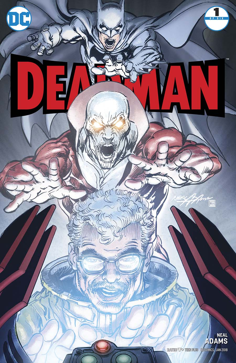 Deadman Vol 5 #1 Cover A Regular Neal Adams Glow-In-The-Dark Cover