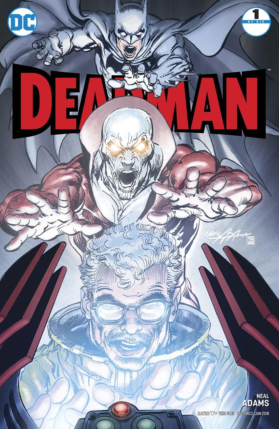 Deadman Vol 5 #1 Cover B Variant Neal Adams Standard Cover