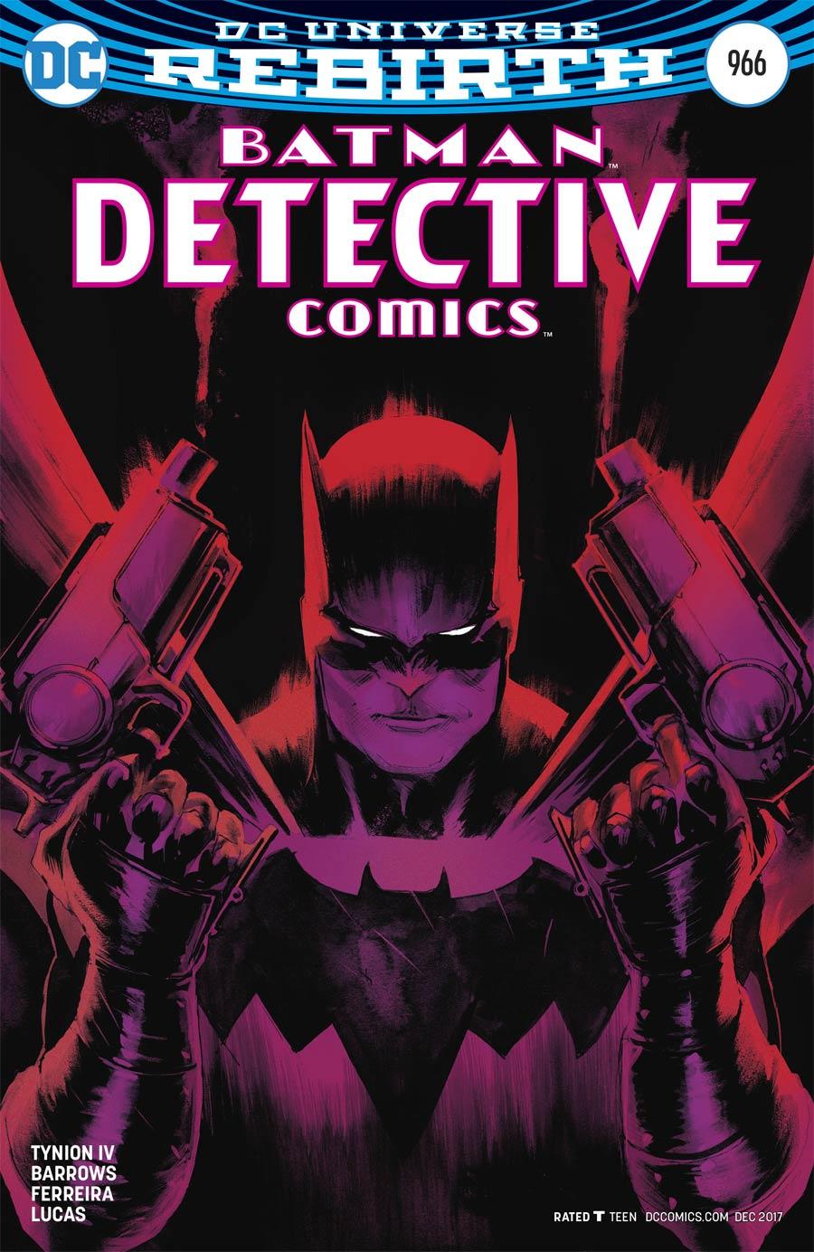 Detective Comics Vol 2 #966 Cover B Variant Rafael Albuquerque Cover