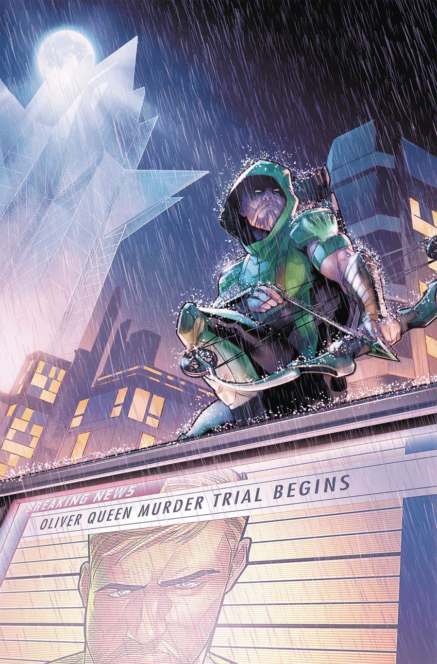 Green Arrow Vol 7 #33 Cover A Regular Jamal Campbell Cover