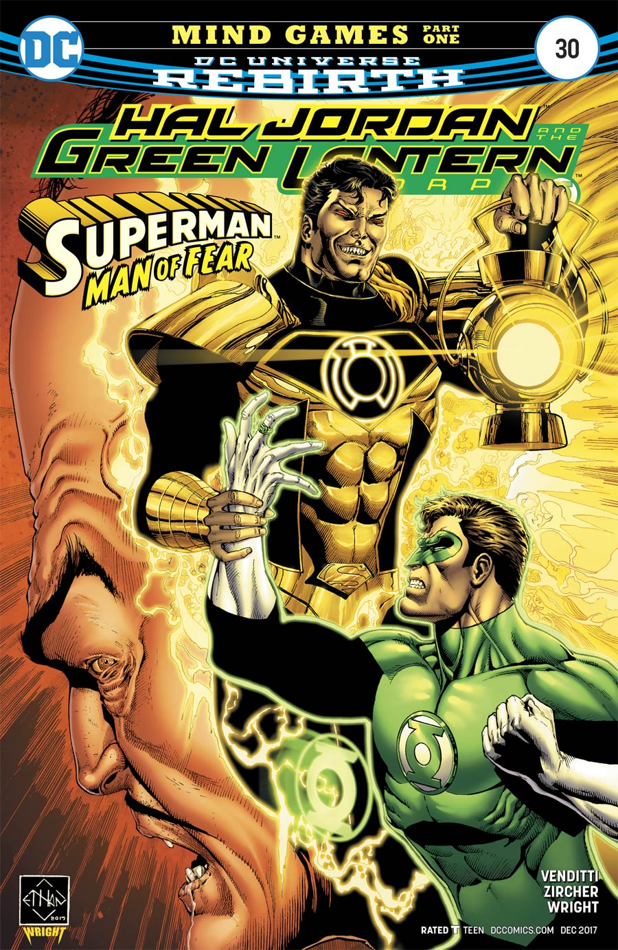 Hal Jordan And The Green Lantern Corps #30 Cover A Regular Ethan Van Sciver Cover