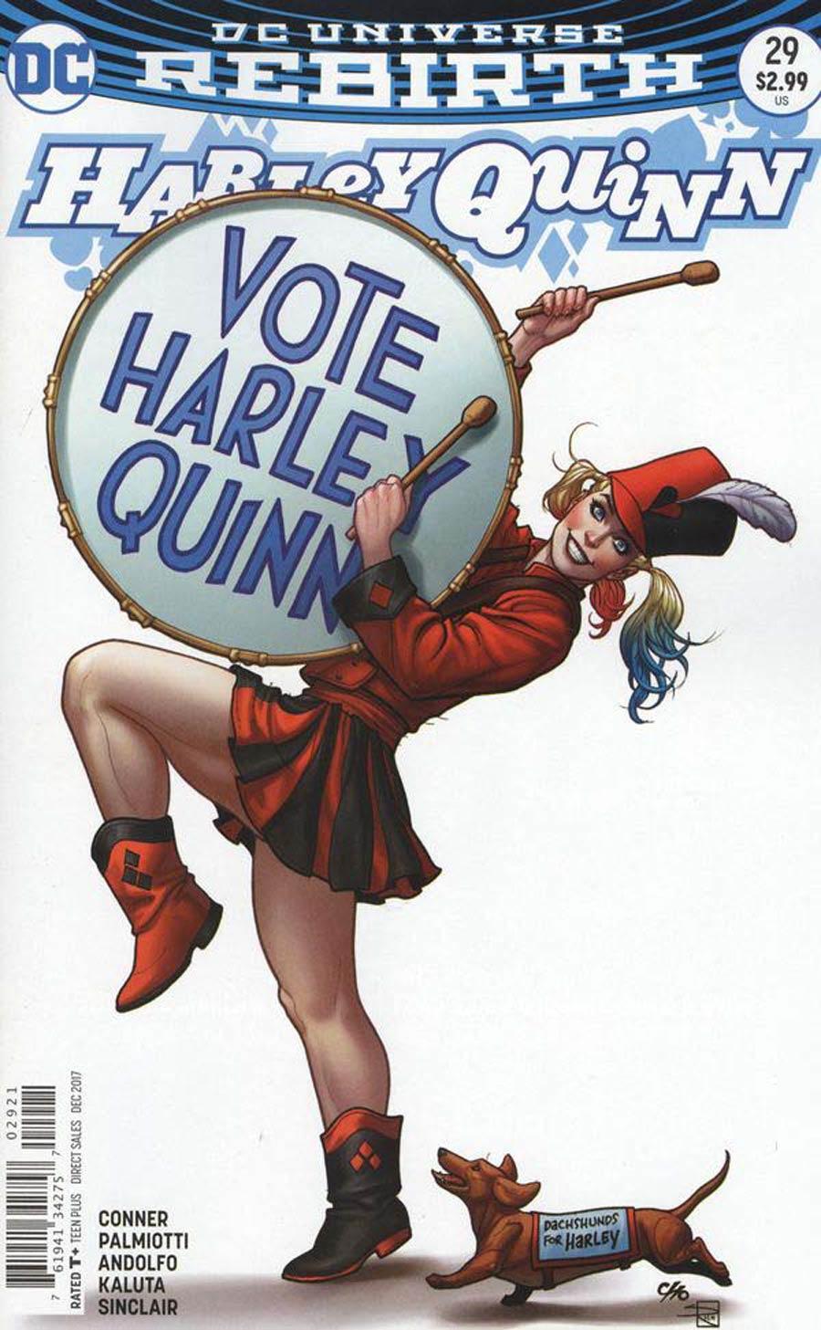 Harley Quinn Vol 3 #29 Cover B Variant Frank Cho Cover