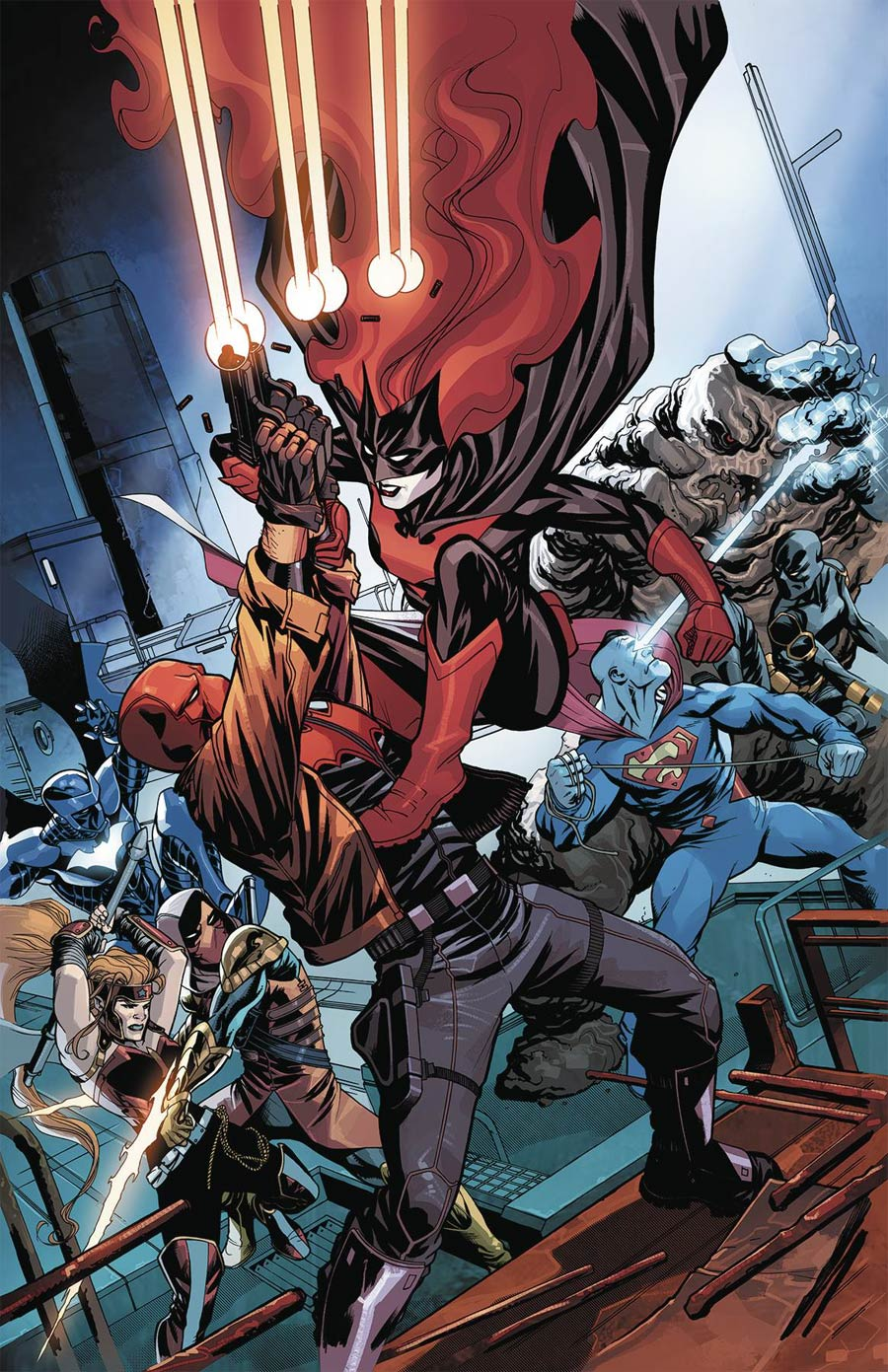 Red Hood And The Outlaws Vol 2 #15 Cover A Regular Mike McKone Cover