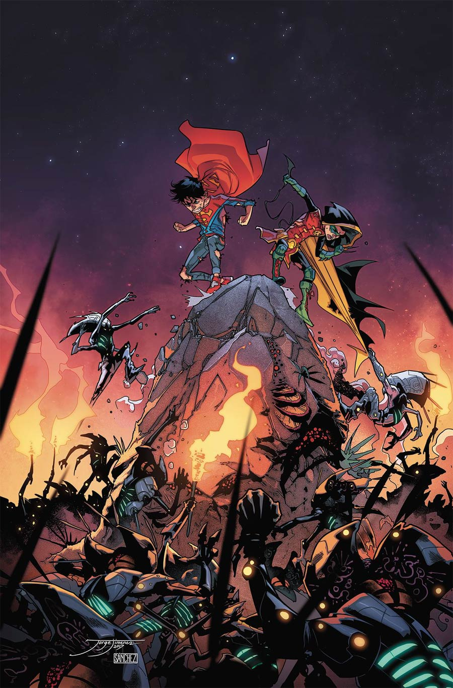 Super Sons #9 Cover A Regular Jorge Jimenez Cover