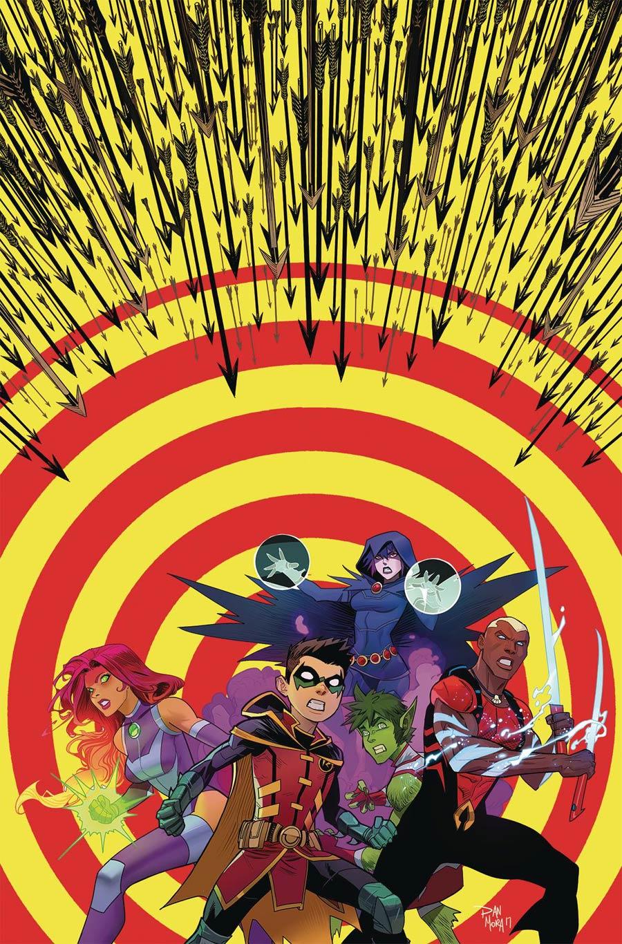 Teen Titans Vol 6 #13 Cover A Regular Dan Mora Cover