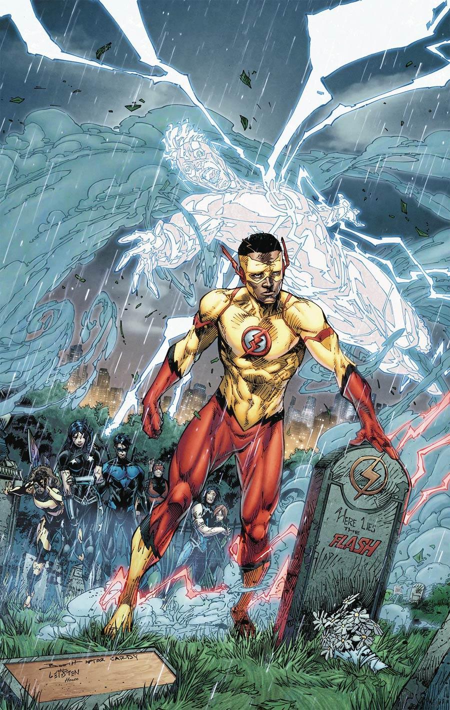 Titans Vol 3 #16 Cover A Regular Brett Booth & Norm Rapmund Cover