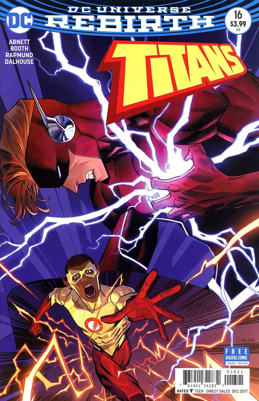 Titans Vol 3 #16 Cover B Variant Dan Mora Cover