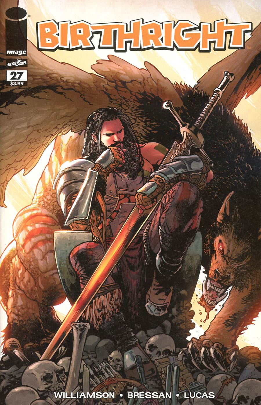Birthright #27 Cover B Variant Andrei Bressan & Adriano Lucas Walking Dead 108 Tribute Cover