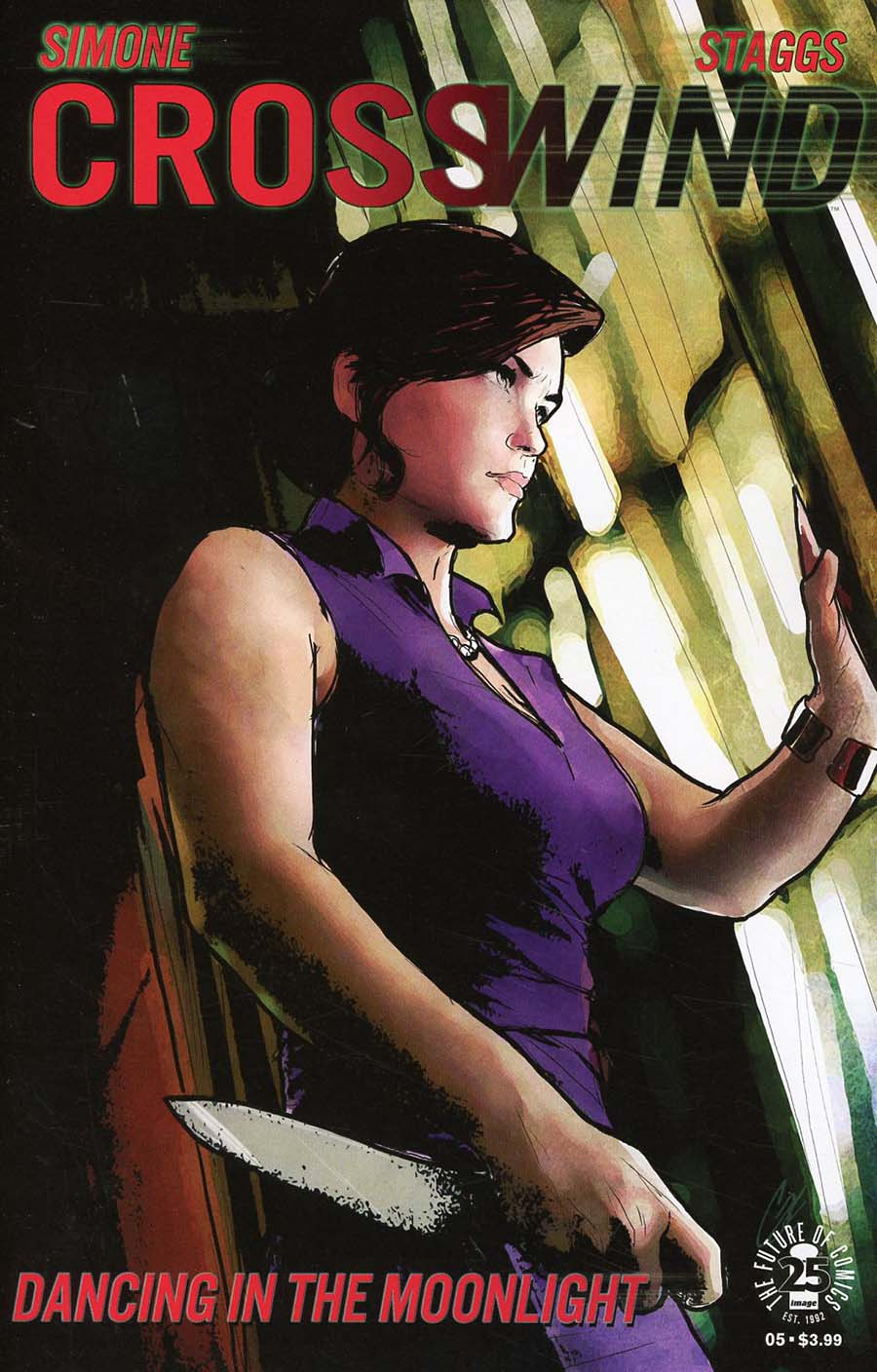 Crosswind #5 Cover B Variant Cat Staggs Cover