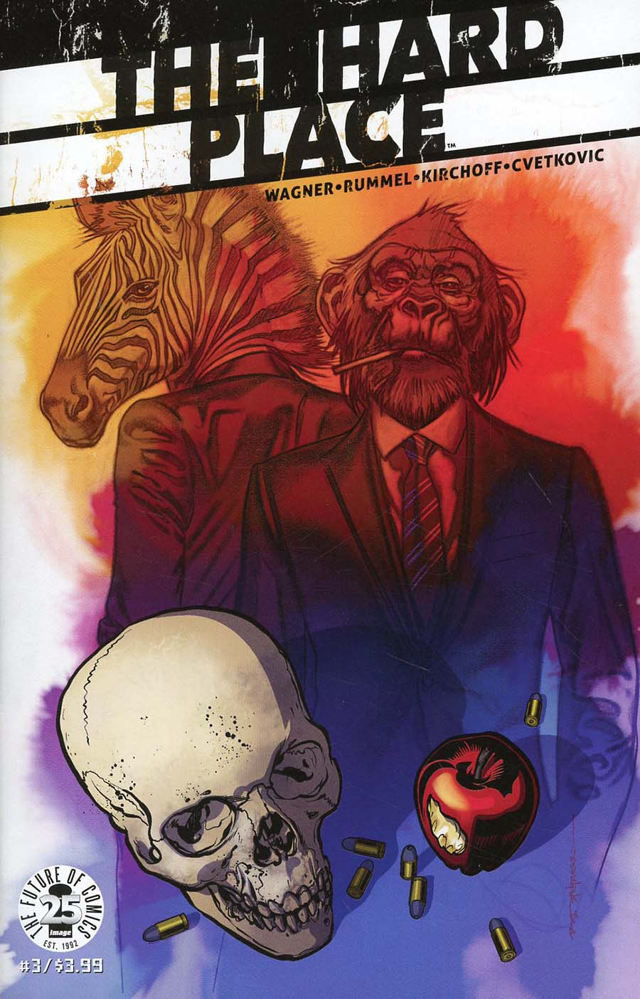 Hard Place #3 Cover A Regular Brian Stelfreeze Cover