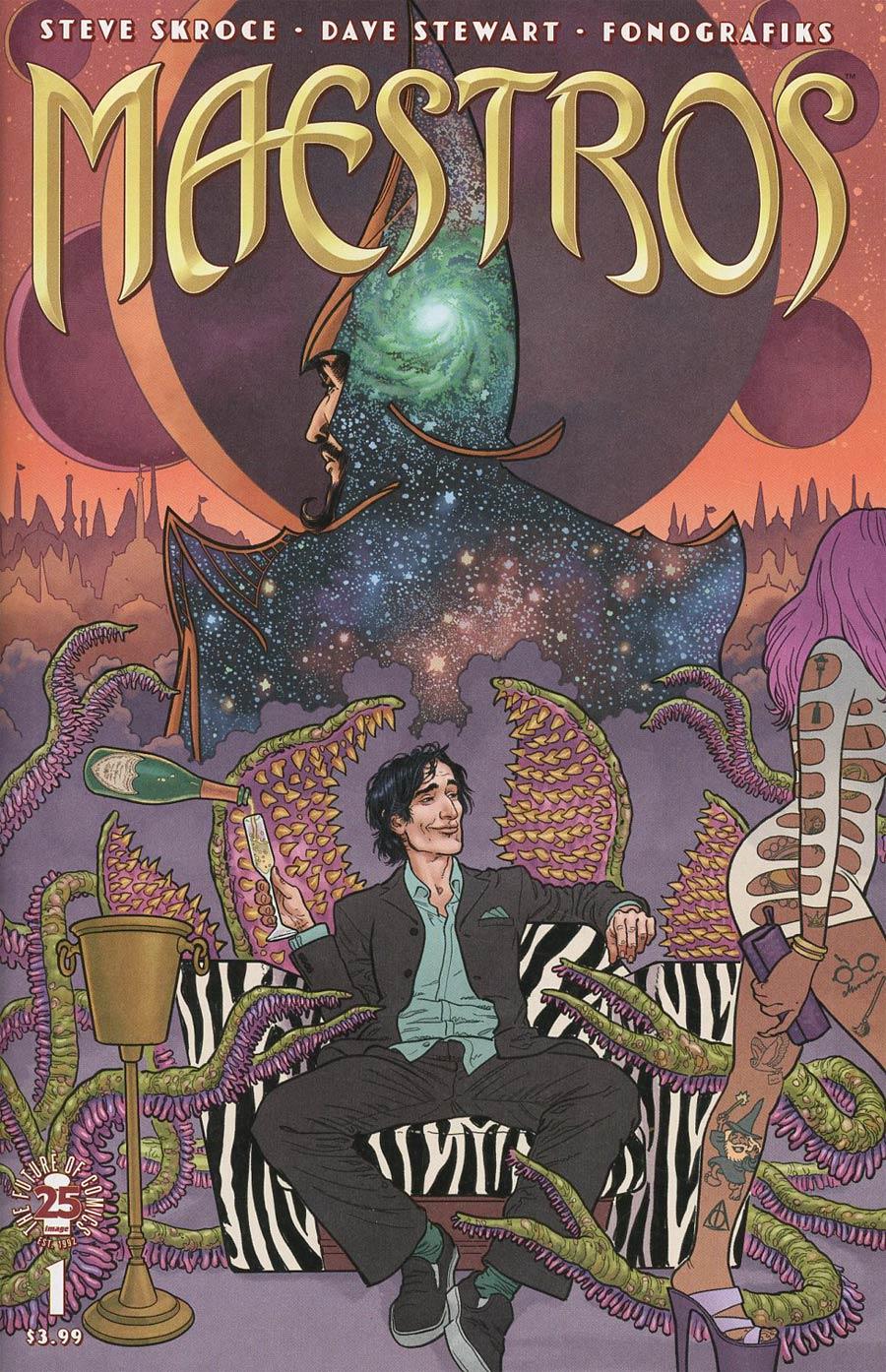 Maestros #1 Cover A 1st Ptg Regular Steve Skroce Cover