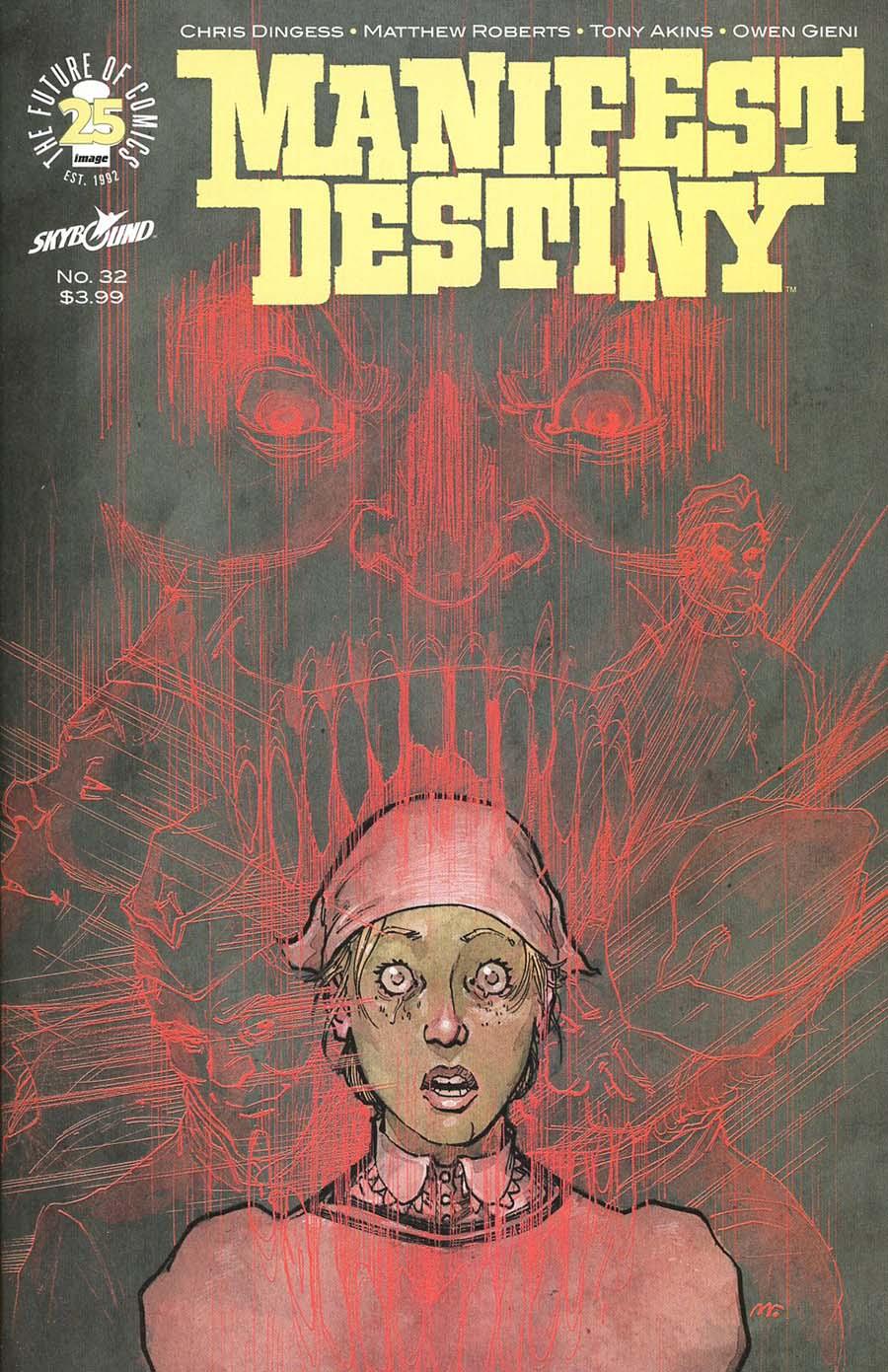 Manifest Destiny #32 Cover A Regular Matthew Roberts & Owen Gieni Cover