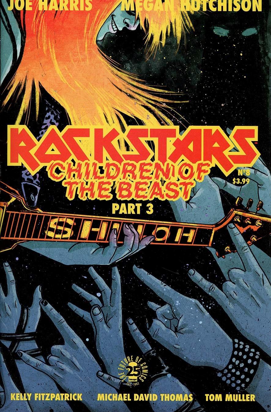 Rockstars #8 Cover A Regular Megan Hutchison Cover
