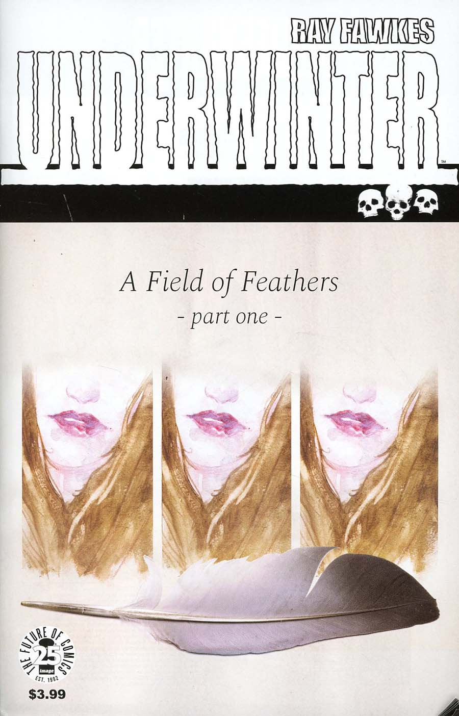 Underwinter A Field Of Feathers #1 Cover A Regular Ray Fawkes Cover