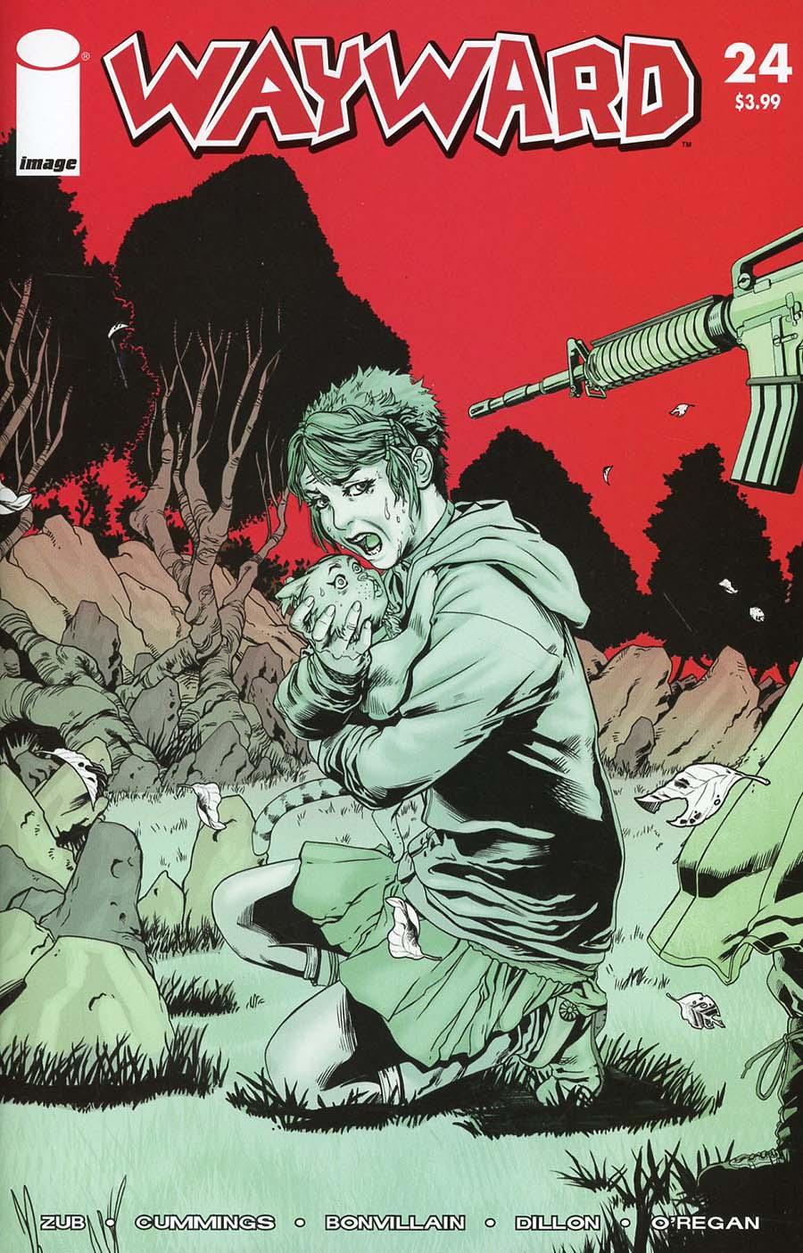 Wayward #24 Cover C Variant Steven Cummings & Royce Fooray Southerland Walking Dead 47 Tribute Color Cover
