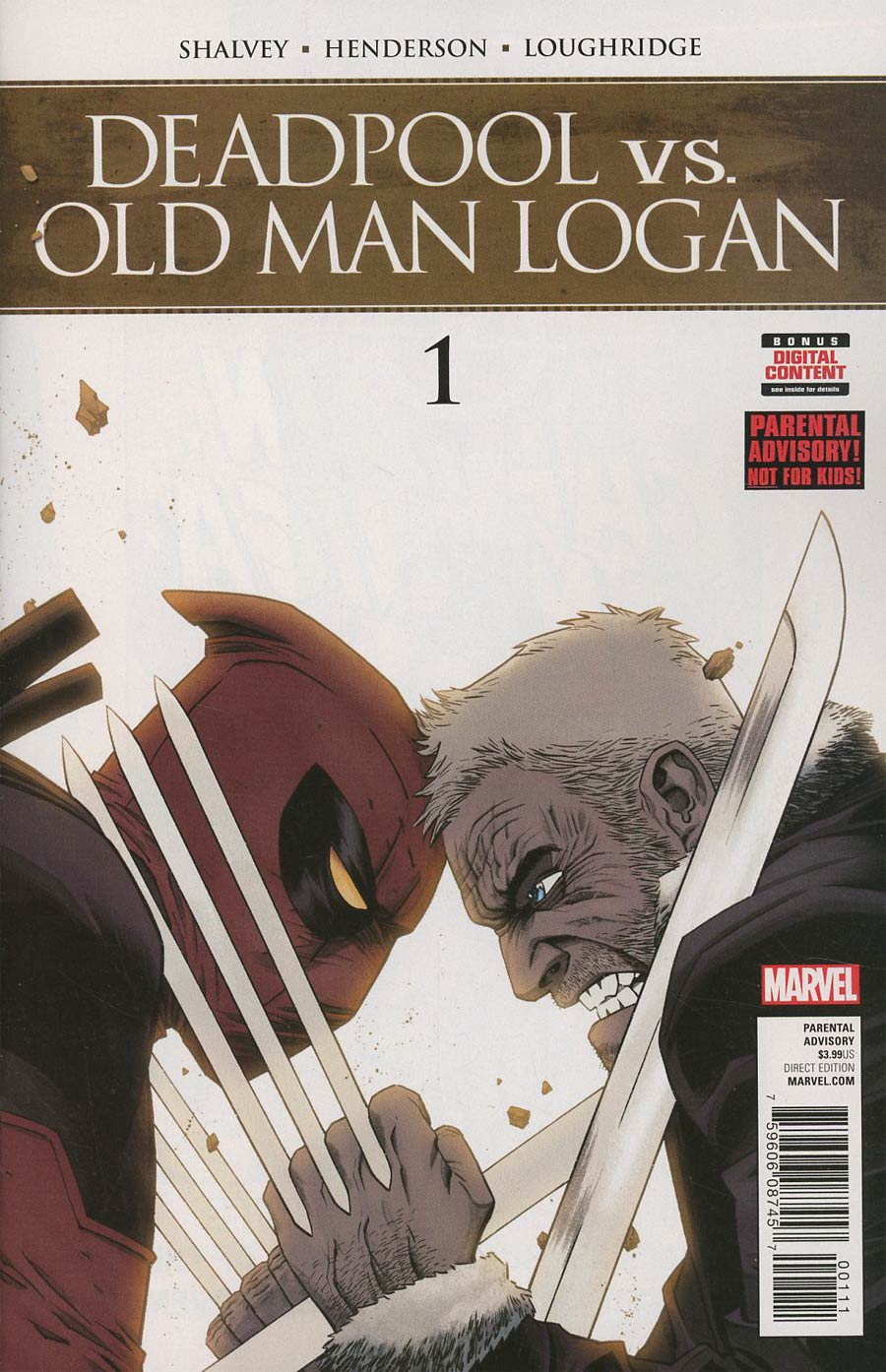 Deadpool vs Old Man Logan #1 Cover A Regular Declan Shalvey Cover