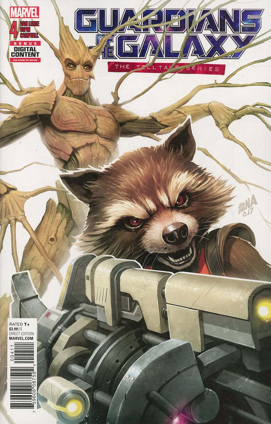 Guardians Of The Galaxy Telltale Series #4 Cover A Regular David Nakayama Cover