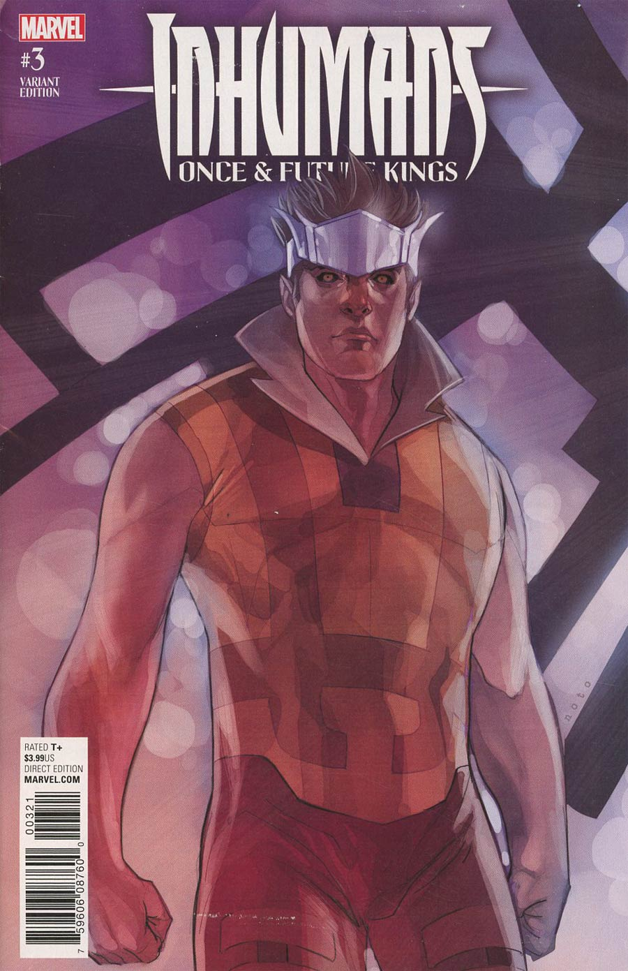 Inhumans Once And Future Kings #3 Cover B Variant Phil Noto Character Cover