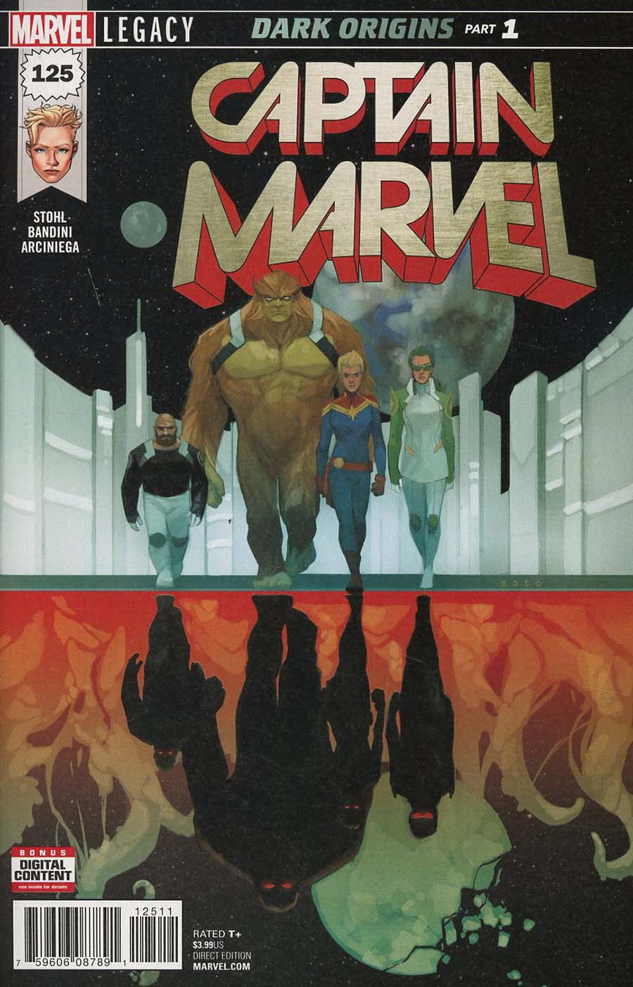 Captain Marvel Vol 8 #125 Cover A 1st Ptg Regular Phil Noto Cover (Marvel Legacy Tie-In)