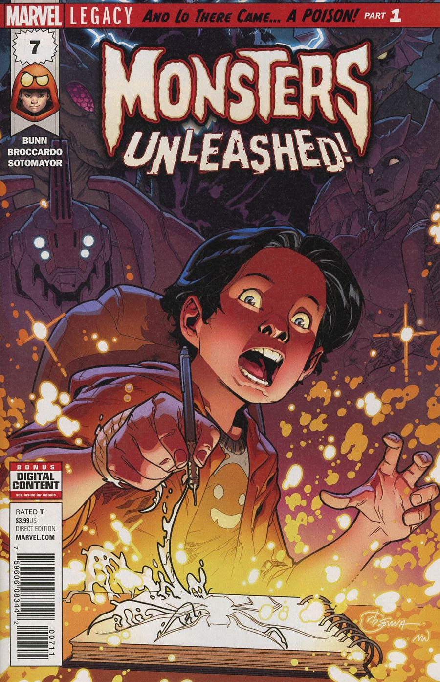Monsters Unleashed Vol 2 #7 Cover A 1st Ptg Regular RB Silva Cover (Marvel Legacy Tie-In)