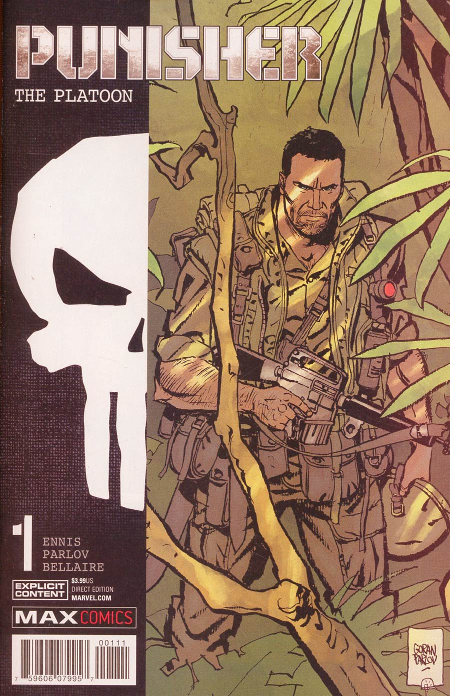 Punisher Platoon #1 Cover A Regular Goran Parlov Cover