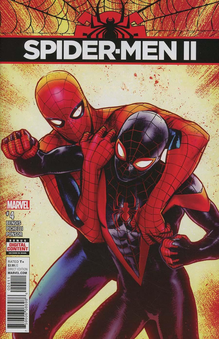 Spider-Men II #4 Cover A Regular Sara Pichelli Cover