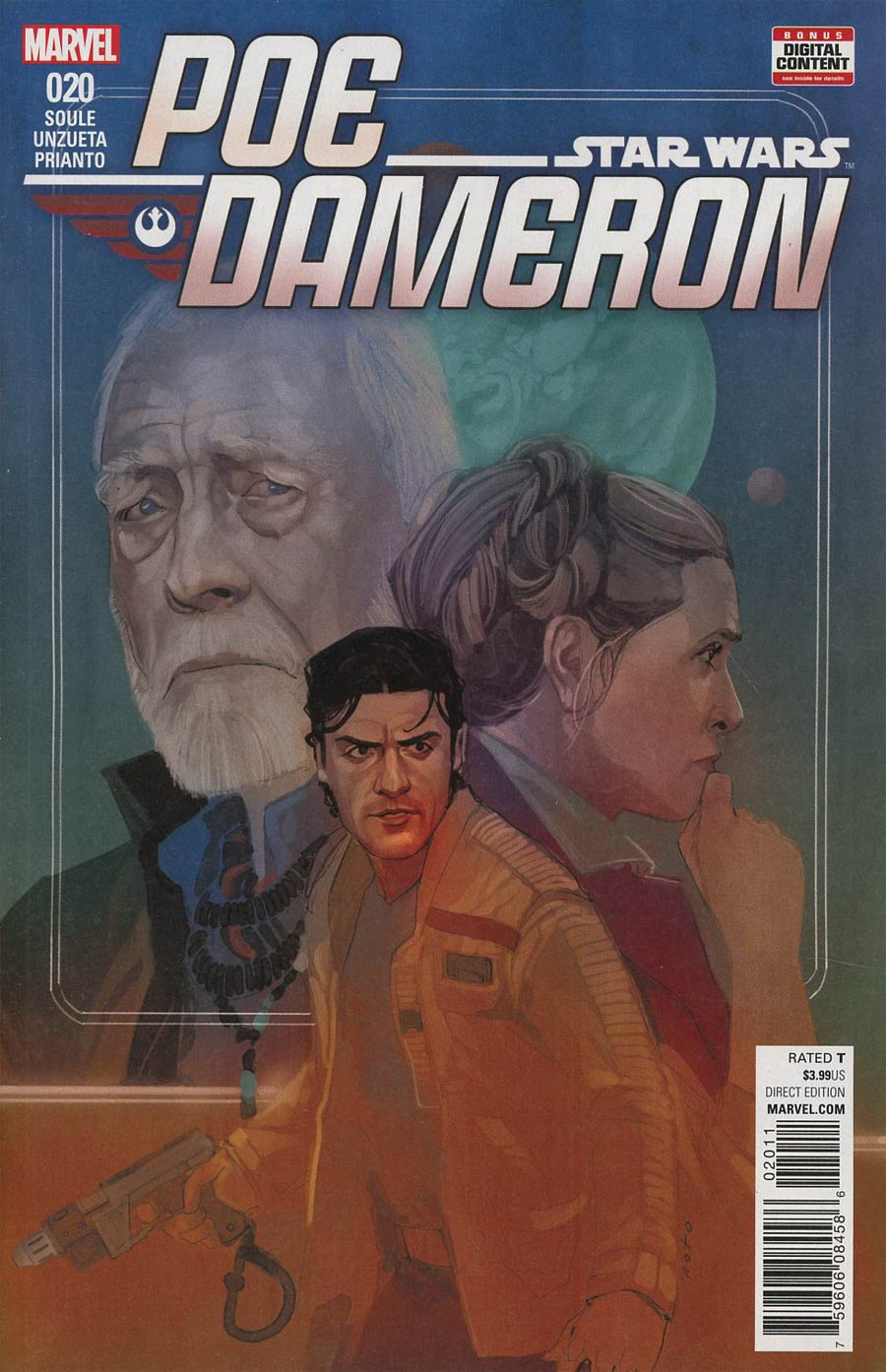Star Wars Poe Dameron #20 Cover A Regular Phil Noto Cover