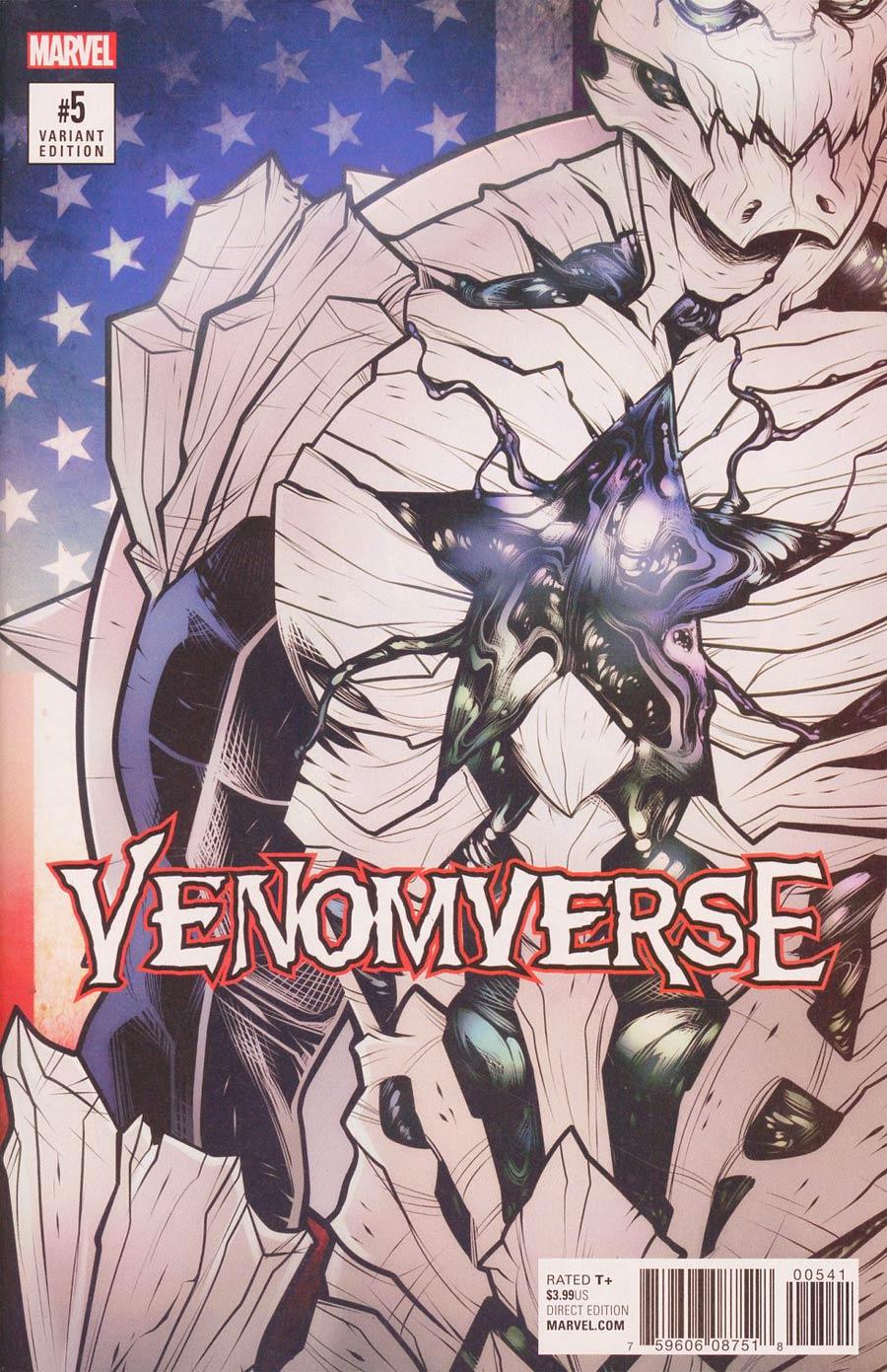 Venomverse #5 Cover C Variant Elizabeth Torque Poison Cover