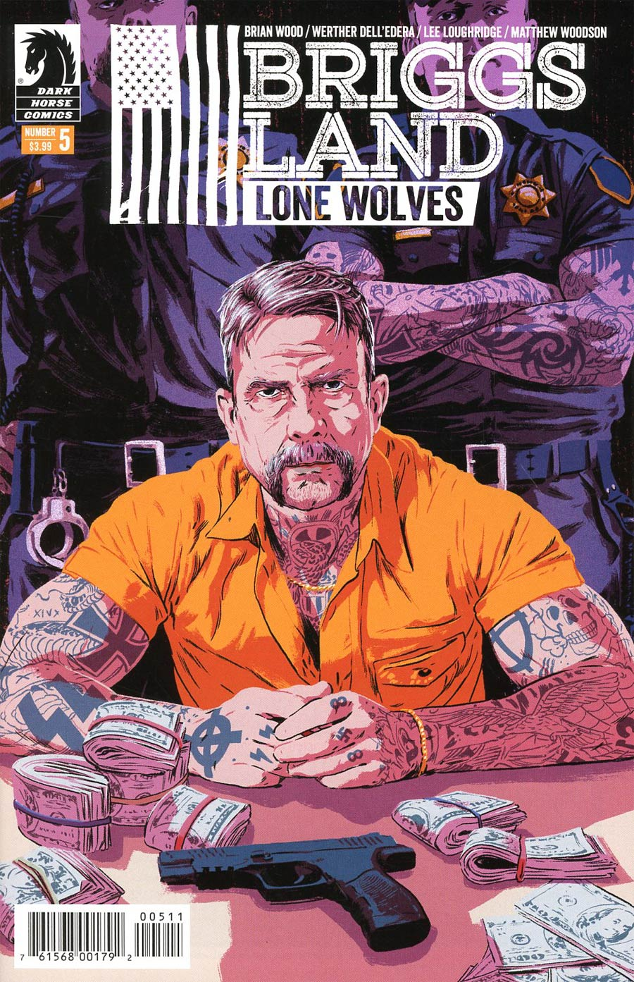 Briggs Land Lone Wolves #5 Cover A Regular Matthew Woodson Cover