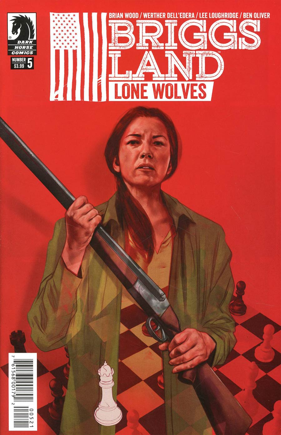 Briggs Land Lone Wolves #5 Cover B Variant Ben Oliver Cover