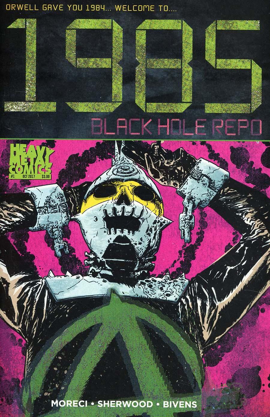 1985 Black Hole Repo #1 Cover A Regular John Bivens Cover