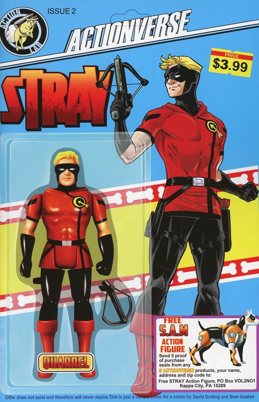 Actionverse Vol 2 #2 Stray Cover B Variant David Golding Cover