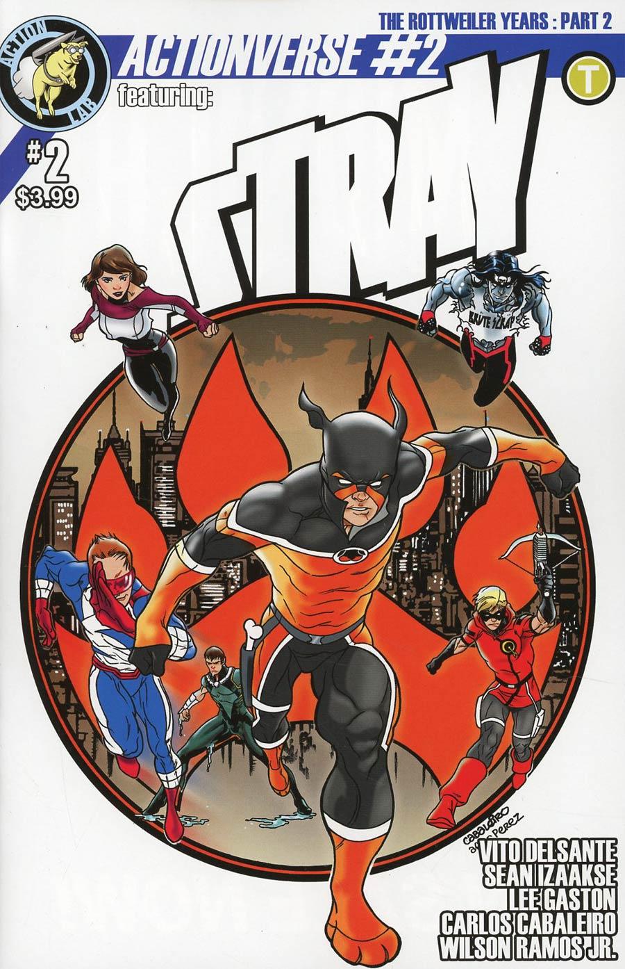 Actionverse Vol 2 #2 Stray Cover C Variant Carlos Cabaleiro Cover