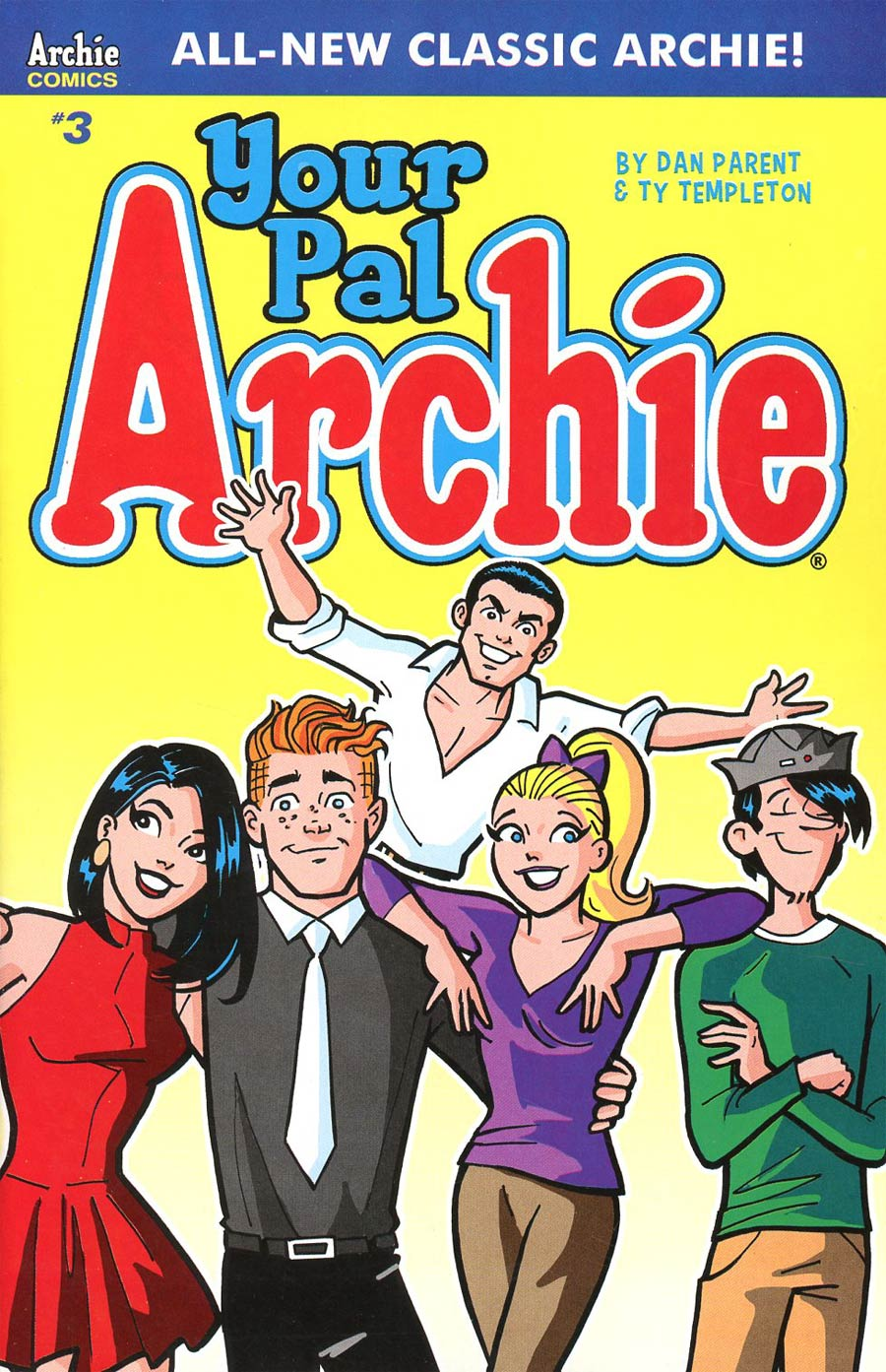 All-New Classic Archie Your Pal Archie #3 Cover A Regular Dan Parent Cover