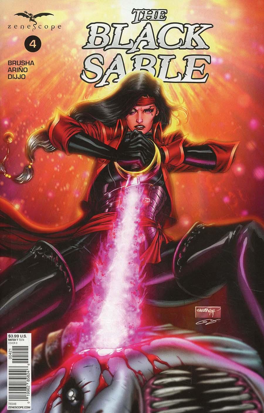 Black Sable #4 Cover B Sheldon Goh