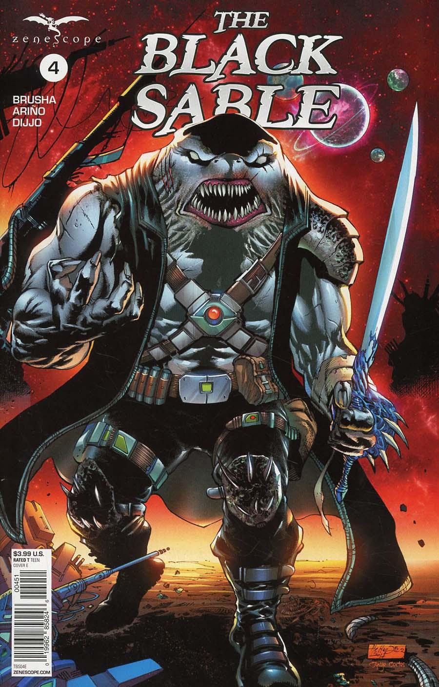 Black Sable #4 Cover E Netho Diaz