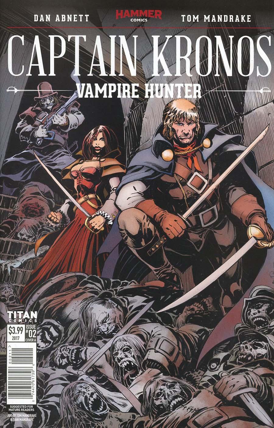 Hammer Comics Captain Kronos Vampire Hunter #2 Cover A Regular Tom Mandrake Cover