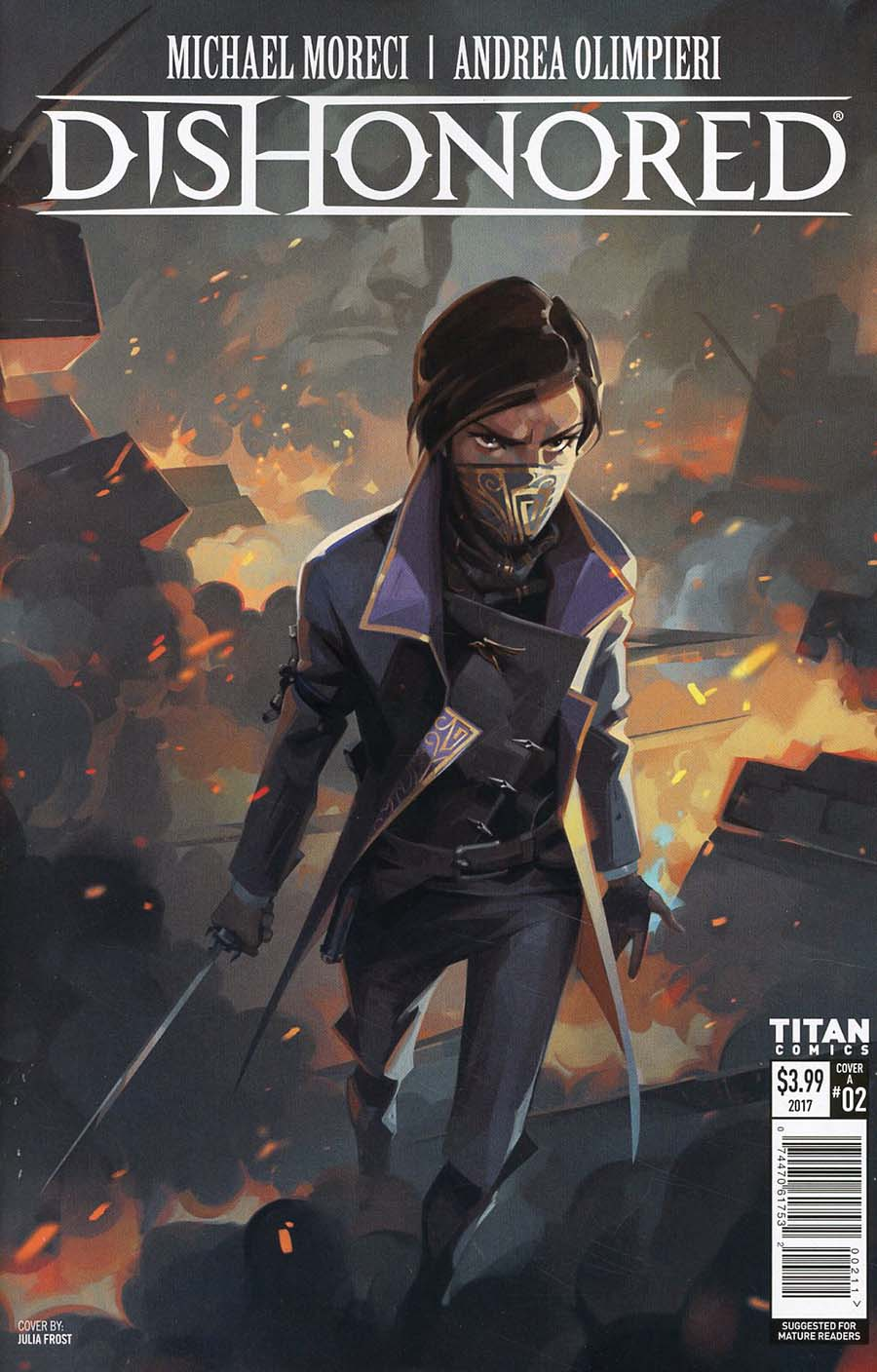 Dishonored Peeress And The Price #2 Cover A Regular Julia Frost Cover