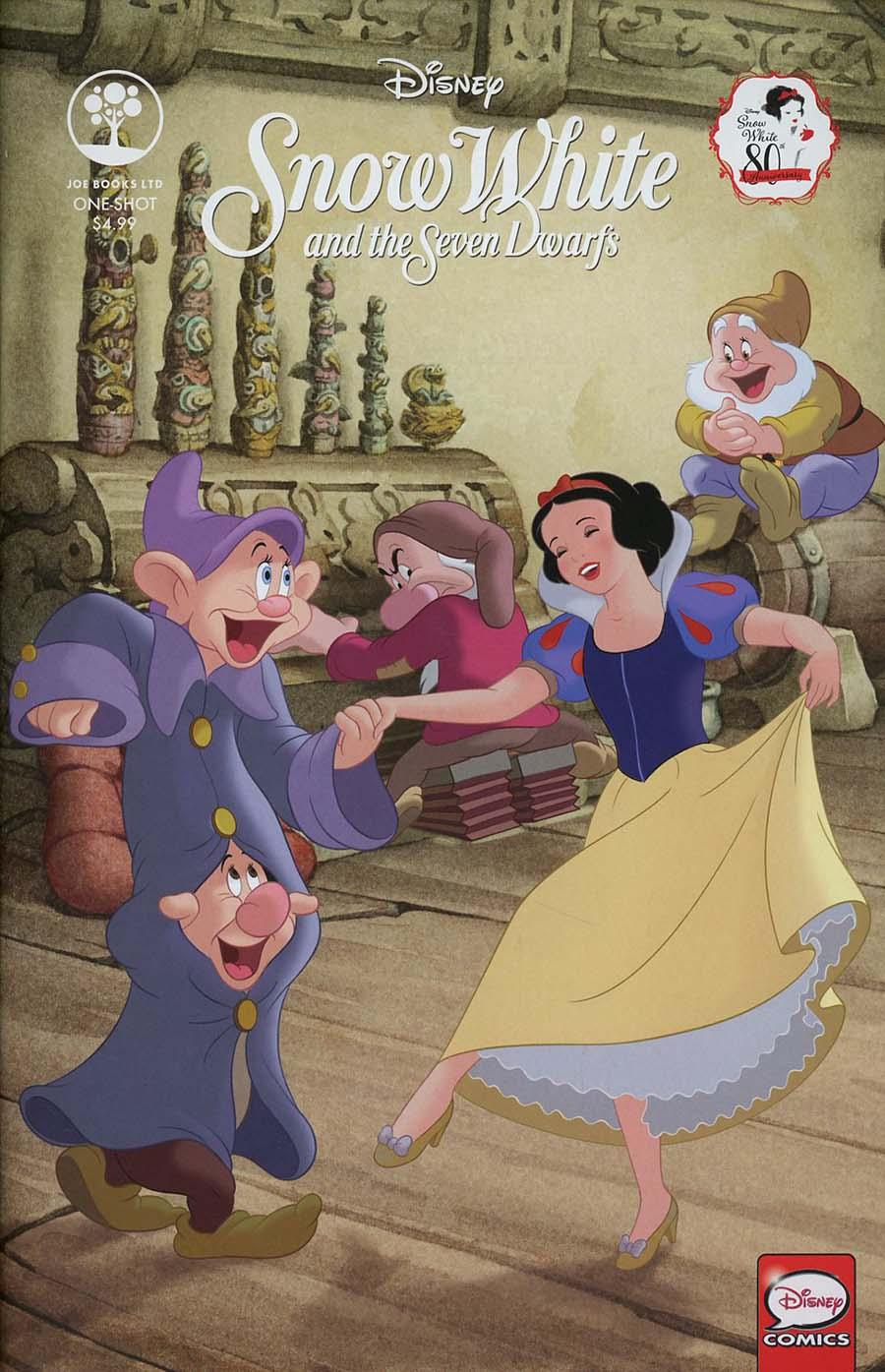 Disney Snow White And The Seven Dwarfs 80th Anniversary One Shot