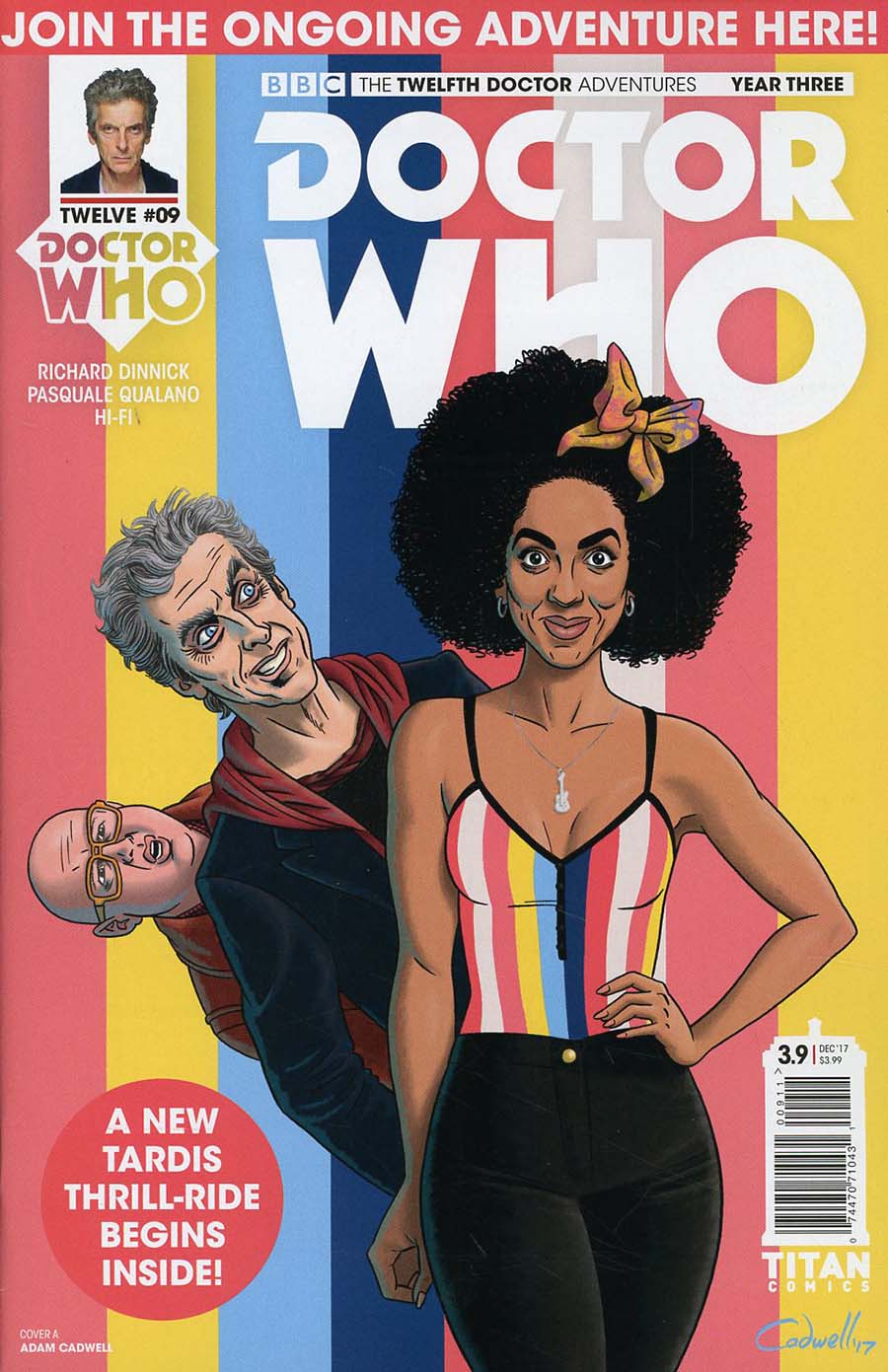 Doctor Who 12th Doctor Year Three #9 Cover A Regular Adam Caldwell Cover