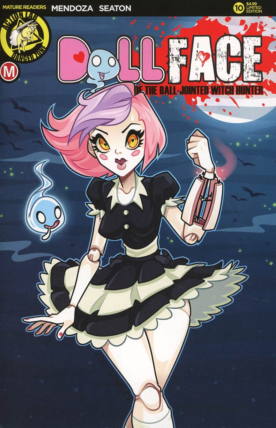 Dollface #10 Cover C Variant Zoe Stanley Pin-Up Cover