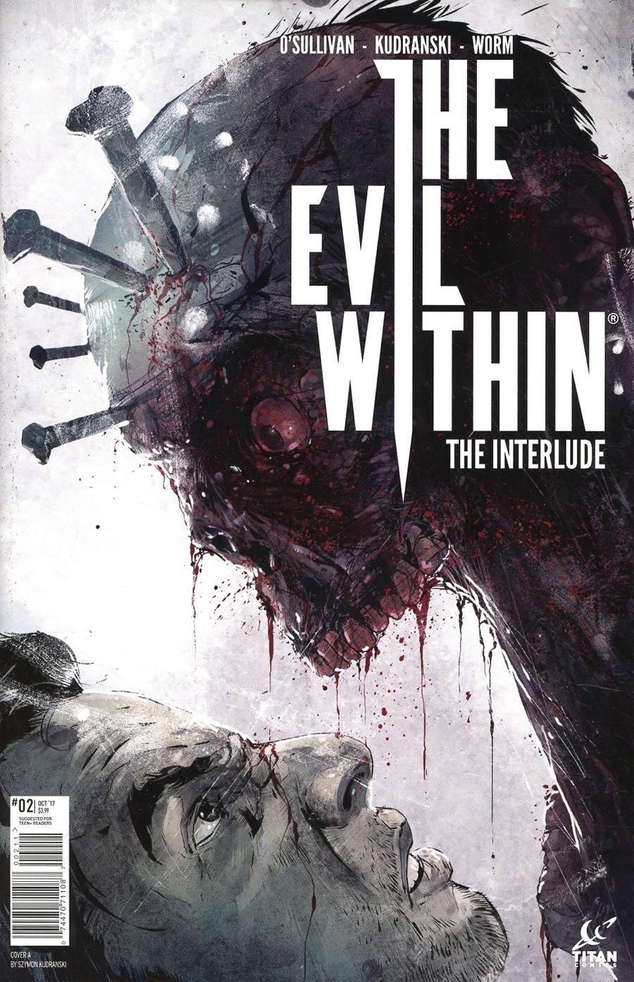 Evil Within Vol 2 #2 Cover A Regular Szymon Kudranski Cover